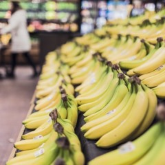 Statystyczny Polak zjada średnio 7 kg bananów rocznie. To mniej niż średnia europejska