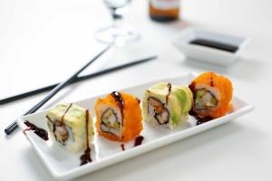 sałatka grecka - sushi - przepisy imprezowe
