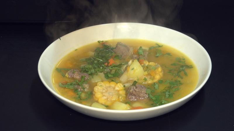 peruwiańska zupa rozgrzewająca